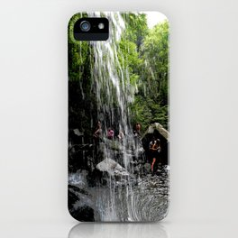 LH Waterfall People iPhone Case