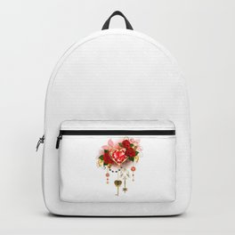 Ruby Heart with Roses Backpack