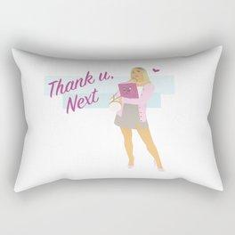 Thank U, Next Ariana Rectangular Pillow