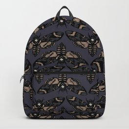 Death's Head Moth  Backpack