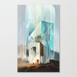 The Crystal-Flesh Hermitage Canvas Print