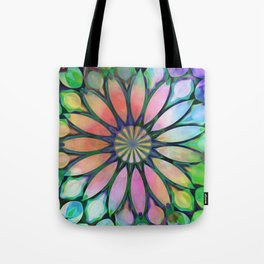 Tropical Flower Dream Tote Bag