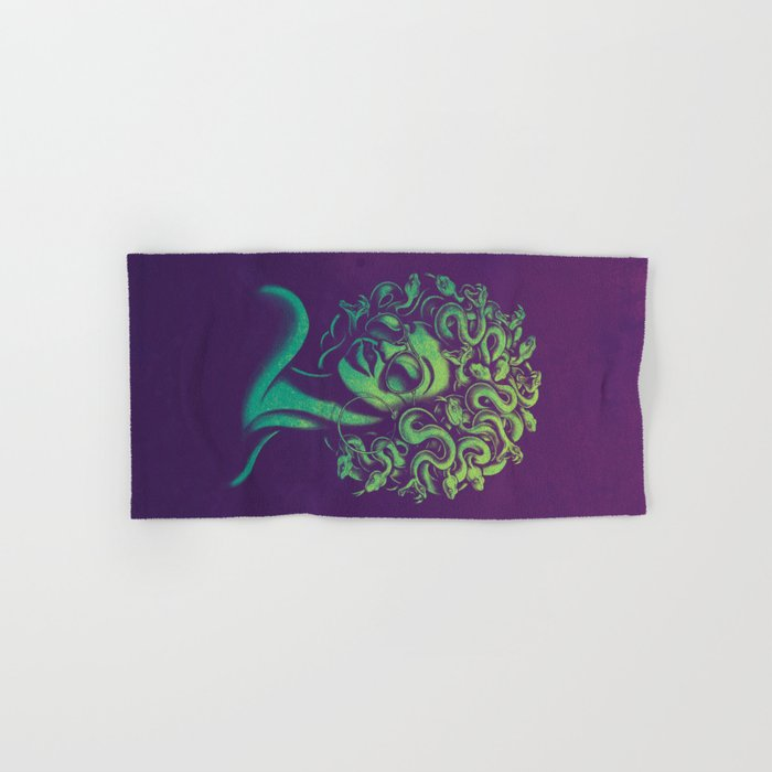 Funky Medusa Hand & Bath Towel