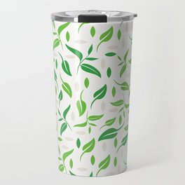 Tea leaves pattern Abstract Travel Mug