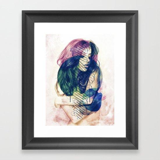 Ecstasy has No Name. Framed Art Print