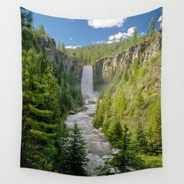 Tumalo Falls Bend Oregon Wall Tapestry