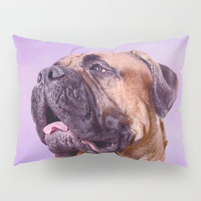 Bullmastiff dog Pillow Sham