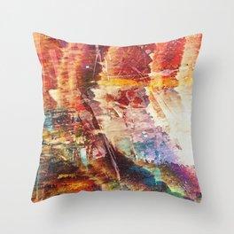 Cascades of Color Throw Pillow