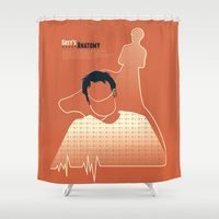 religion Shower Curtains featuring Losing My Religion by Risa Rodil