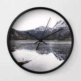 Silver Lake Wall Clock