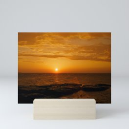 Sunset at Saaremaa Mini Art Print