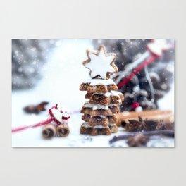 Christmas bakery Canvas Print