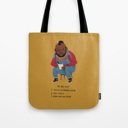 T to-do-list. Tote Bag