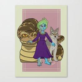 Loki's Children Canvas Print