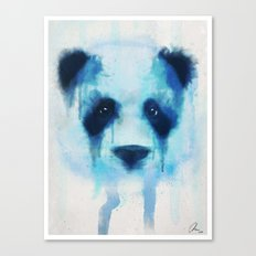 Sad Panda Canvas Print