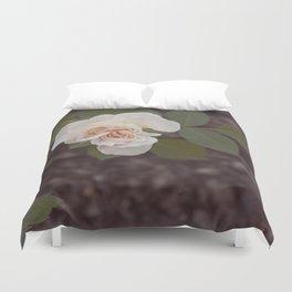 The Last Blossom (Autumn Rose) Duvet Cover
