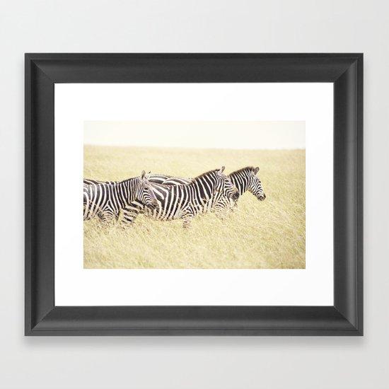 trois::kenya Framed Art Print