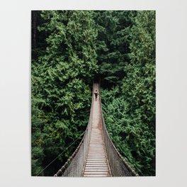 Lynn Canyon Bridge Poster