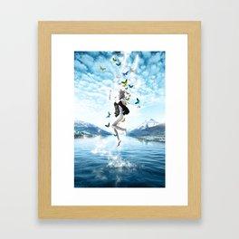 Rebirth Framed Art Print