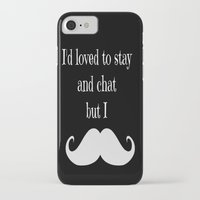 moustache iPhone & iPod Cases featuring Moustache  by  Alexia Miles photography