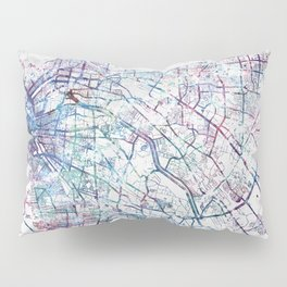 El Paso map Pillow Sham