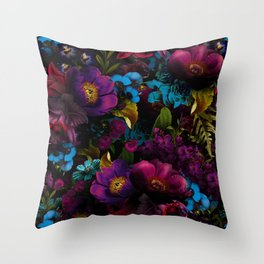 Vintage & Shabby Chic - Night Affaire I Throw Pillow