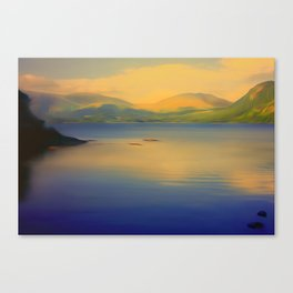 Derwentwater, Lake District Canvas Print