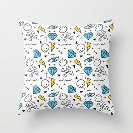 Cool Avril Pattern Throw Pillow