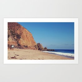 Point Mugu Malibu Art Print