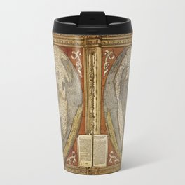 Heart-shaped projection map by Oronce Fine, 16th century Travel Mug