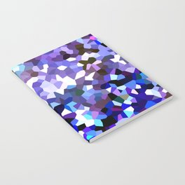 Ultraviolet Mountains Moon Love Notebook
