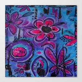 In the Garden #6 Canvas Print