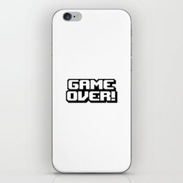 GAME OVER! iPhone Skin