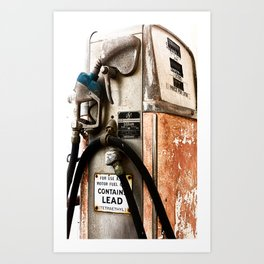 Ye Olde Pump Art Print