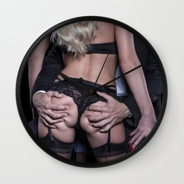 Sexy Blonde Wall Clock