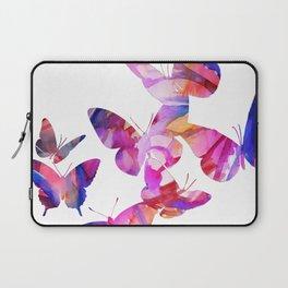 Pink Butterflies Laptop Sleeve