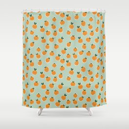Tiny Clementines Shower Curtain