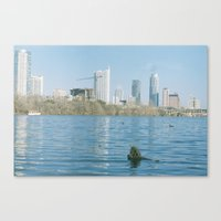 austin Canvas Prints featuring Austin by Chandler Renfeldt