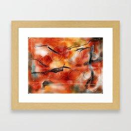 Orange #6 Framed Art Print