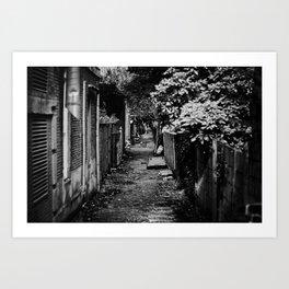 Alley Art Print