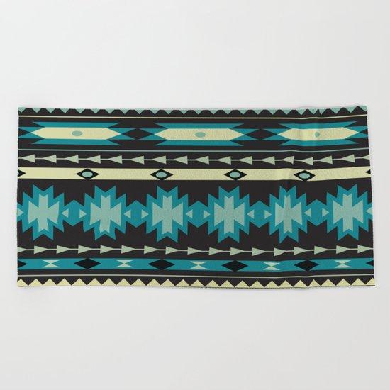 American Native Pattern No. 40 Beach Towel