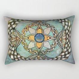 Mindful Passage Celtic Knot Rectangular Pillow