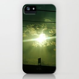 Highway Sunset iPhone Case