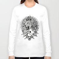 jaguar Long Sleeve T-shirts featuring Jaguar  by Erick Gonzaga