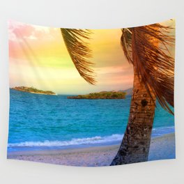 tropical sumer Wall Tapestry