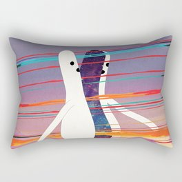 i m p r o v v i s a m e n t e - t a g l i a t o Rectangular Pillow