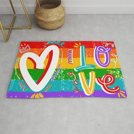 #LOVE Rug