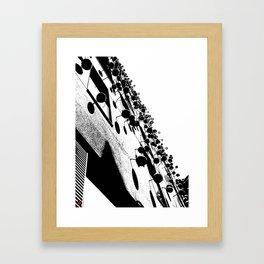 Barna Love B&W Framed Art Print