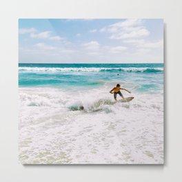 California Colors - Surf - v18 Metal Print
