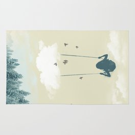 Lucy in the sky Rug